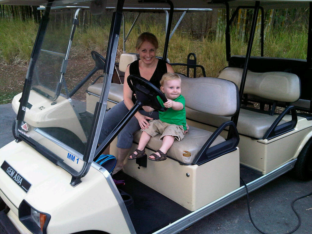 Khao Yai Golf Carts