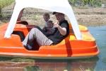 Paddle-boating